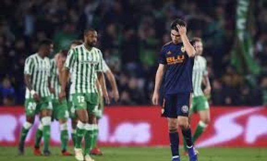 Permalink to Prediksi Skor Real Betis vs Valencia 23 November 2019